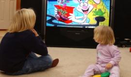 Воздействие телевизора на детское зрение
